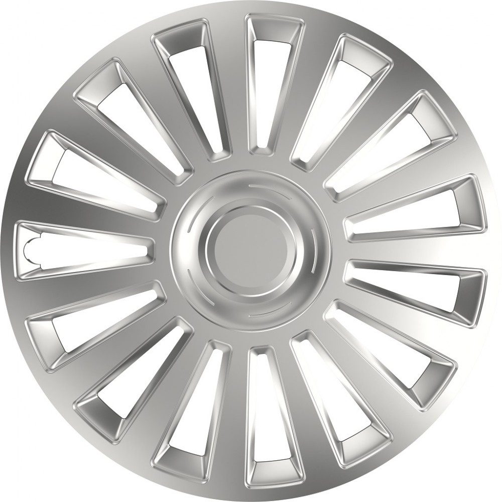 """Capace Roti Derby Luxury Silver 15"""""""